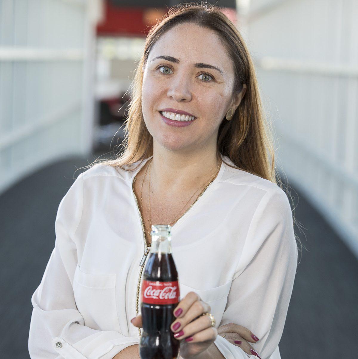 A executiva Adriana Knackfuss, Head of Integrated Marketing Experiences Latam na Coca-Cola, participou da Palestra Magna do Ibmec